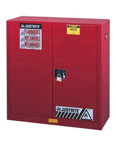 Sure-Grip® EX Combustibles Paint & Ink Safety Cabinet, 40 Gallon, S/C Doors, Red (Intl)