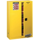 Sure-Grip® EX Flammable Safety Cabinet, 45 Gallon, M/C Doors, Yellow