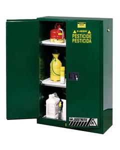 Sure-Grip® EX Pesticides Safety Cabinet, 45 Gallon, M/C Doors, Green (Intl)