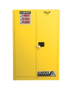 Sure-Grip® EX Combustibles Paint & Ink Safety Cabinet, 60 Gallon, M/C Doors, Yellow (Intl)