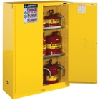 Sure-Grip® EX Flammable Safety Cabinet, 45 Gallon, S/C Doors, Yellow