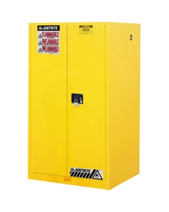 Sure-Grip® EX Flammable Safety Cabinet, 60 Gallon, M/C Doors, Yellow (Intl)
