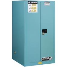 Sure-Grip® EX Corrosives/Acid Safety Cabinet, 60 Gallon, M/C Doors, Blue
