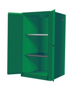 Sure-Grip® EX Pesticides Safety Cabinet, 60 Gallon, M/C Doors, Green