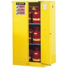 Sure-Grip® EX Flammable Safety Cabinet, 60 Gallon, S/C Doors, Yellow