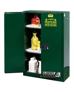 Sure-Grip® EX Pesticides Safety Cabinet, 60 Gallon, S/C Doors, Green (Intl)