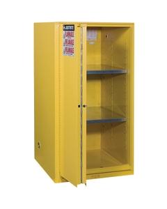 Sure-Grip® EX Flammable Safety Cabinet, 60 Gallon, Bi-Fold S/C Doors, Yellow (Intl)
