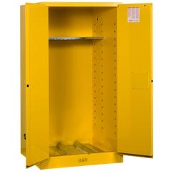 Sure-Grip® EX Vertical Drum Safety Cabinet, M/C Doors, Yellow (Intl)