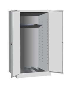 Sure-Grip® EX Vertical Drum Safety Cabinet, M/C Doors, White