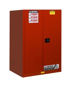 Sure-Grip® EX Flammable Safety Cabinet, 90 Gallon, M/C Doors, Red