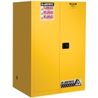 Sure-Grip® EX Flammable Safety Cabinet, 90 Gallon, S/C Doors, Yellow