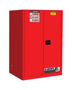 Sure-Grip® EX Flammable Safety Cabinet, 90 Gallon, S/C Doors, Red (Intl)