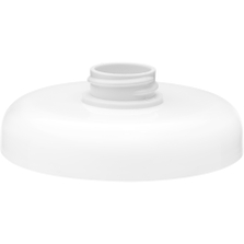 89mm 89-400 White Dome Adaptor Closure with 28mm Neck
