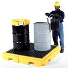 4-Drum Low-Profile Ultra-Spill Pallet P4 Plus - UltraTech 9630/9631