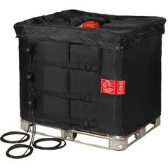"37.5"", 275-330 Gallon IBC Tote Heater w/Insulated Lid, Adj. Thermostat, 32° to 194°F, 120V, 3x1300W - InteliHeat®"