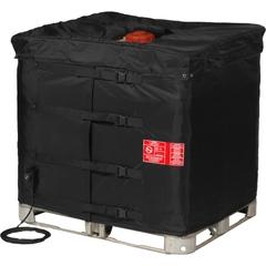 330 Gallon IBC Heater w/Thermal Insulated Cover, Adj. Temp, 23°-104°F, 120v, 1550w
