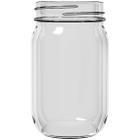 16 oz. Clear Glass Mayo Jar, 70mm 70-2030
