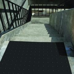 2' x 2' Black Retrofit Ultra-ADA Warning Pad