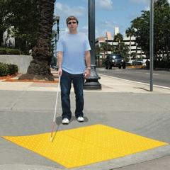 2' x 4' Yellow Retrofit Ultra-ADA Warning Pad