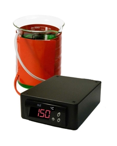Silicone Rubber Beaker Heater w/SDC Temperature Controller