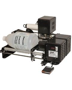 """10"""" Bottle Labeling Machine, Optical Sensing, Front & Back Label Applicator, Bottle-Matic OS-10"""