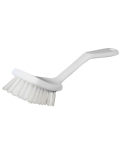 "Stiff Bristle Sieve Brush, .75"" Bristle, Poly Handle"