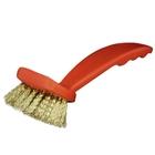"""Stiff Brass Sieve Brush, .75"""" Bristle, Poly Handle"""