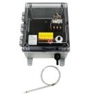 Bulb and Capillary Temperature Controller, 0°-150°F, 120v, 1 Contactor