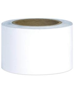 "80 Gauge - 3"" x 1000' White Cast Bundling Stretch Wrap Film, 18/pk"