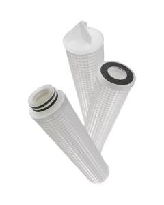 "0.5 Micron Pleated Polypropylene Liquid Filter Cartridge (2-1/2"" x 10"")"