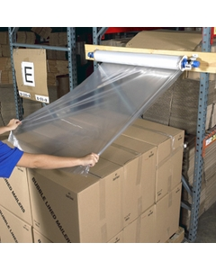 """60"""" x 60"""" Goodwrappers® 1.25 Mil Clear Top Sheeting, 75/sheets"""