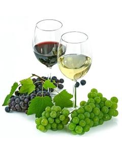 Merlot Varietal Commercial Wine Base, 160 Liter Drum