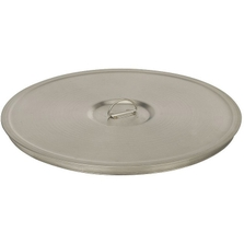 """8"""" Stainless Steel Sieve Cover with Lifting Ring"""