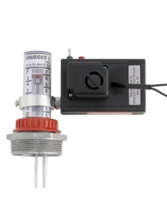 At-A-Glance™ Direct Mount Flashing Light Gauge Alarm, Dry Contacts