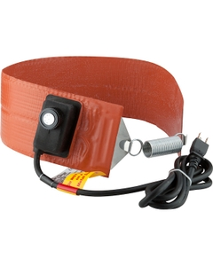 5 Gallon Heavy-Duty Pail Heater Band for Steel Pails, Adj. Thermostat, Up to 425°F, 120v, 550w (Bare Wire Leads)