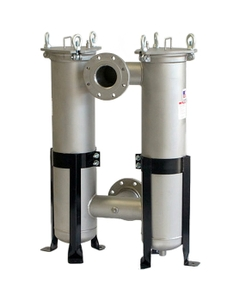 304 Stainless Steel Dual Bag Filter Vessels (All Sizes)