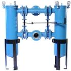 """Size #2 Duplex (30"""" Basket Depth), 2"""" Flange, Carbon Steel Filter Vessel"""