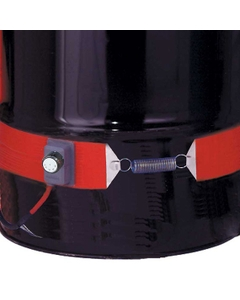 5 Gallon Economy Pail Heater Band for Steel Pails, Adj. Thermostat, Up to 425°F, 240v, 300w (Crimped Ferrule Wire Leads)