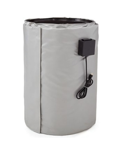 30 Gallon Drum Heater for Steel Drums, Adj. Thermostat, 50°-450°F, 240v, 1160w