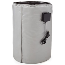 15 Gallon Drum Heater for Steel Drums, Adj. Thermostat, 50°-450°F, 240v, 870w