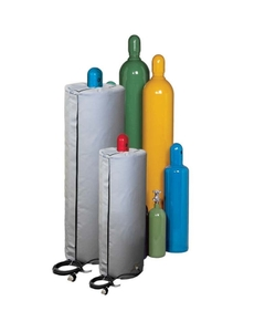 """Gas Cylinder Heater, 51"""" Height, Self-Regulating Temperature, Up to 150° F, 240v, 50w"""