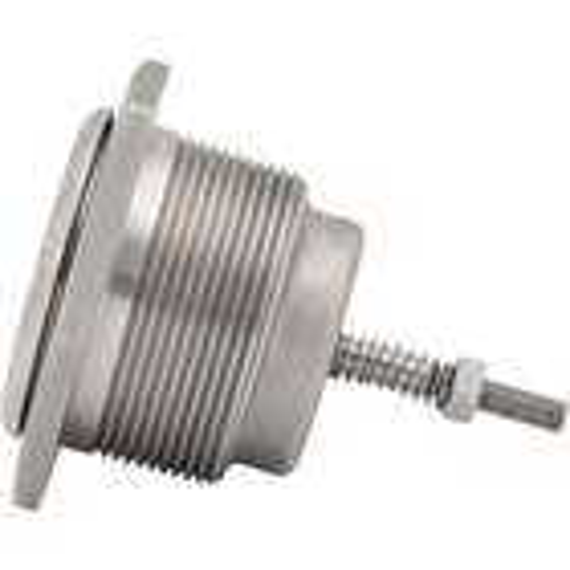 "2"" NPS Low Profile Pressure/Vacuum Relief Vent, Viton O-Ring, Pressure 3.0-6.5 PSI, Vacuum 0.5 PSI, 316 SS, w/Baffle"