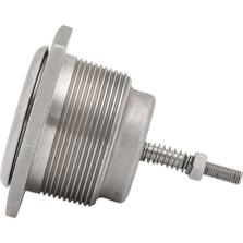 """2"""" NPT Low Profile Pressure/Vacuum Relief Vent, Viton O-Ring, Pressure 3.0-6.5 PSI, Vacuum 0.5 PSI, 316 SS"""