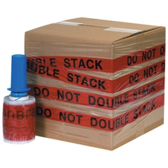 """""""DO NOT DOUBLE STACK"""" Goodwrappers® Identi-Wrap 80 Gauge - 5"""" x 500', 6/pk"""