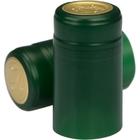 Green Matte PVC Capsules w/Tear Tab, 100/pk