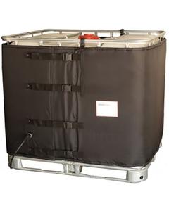 275 Gallon IBC Tote Heater, CID2 Hazardous Area, Preset Temperature, 122°F, 120v, 1550w
