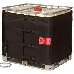 275-330 Gallon IBC Tote Heater, Adj. Thermostat, 23°-104°F, 120v, 1550w - InteliHeat®