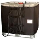 """37.5"""", 275-330 Gallon IBC Tote Heater, CID2 Hazardous Area, Preset Temperature, 194°F, 120v, 2x1550w"""