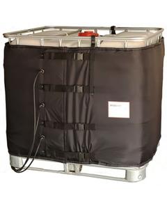 """37.5"""", 275-330 Gallon IBC Tote Heater, CID2 Hazardous Area, Preset Temperature, 194°F, 120v, 3x1300w"""