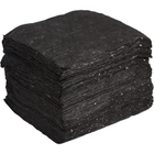 """15"""" x 18"""" Heavy-Weight Univ. Absorbent Pads, Recycled, Gray (100 pads/bag)"""
